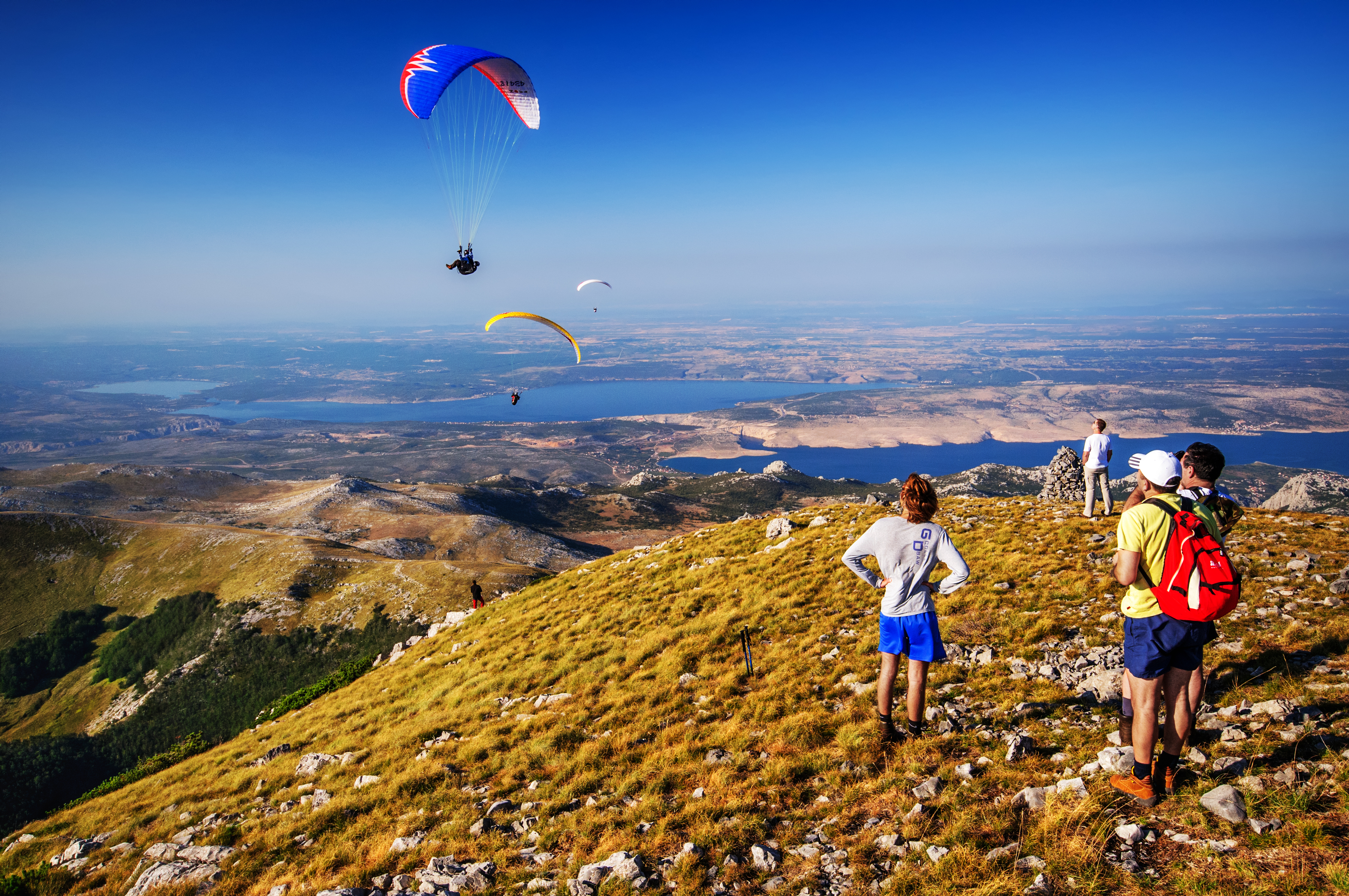 Paragliding, Velebit, Sveto brdo
