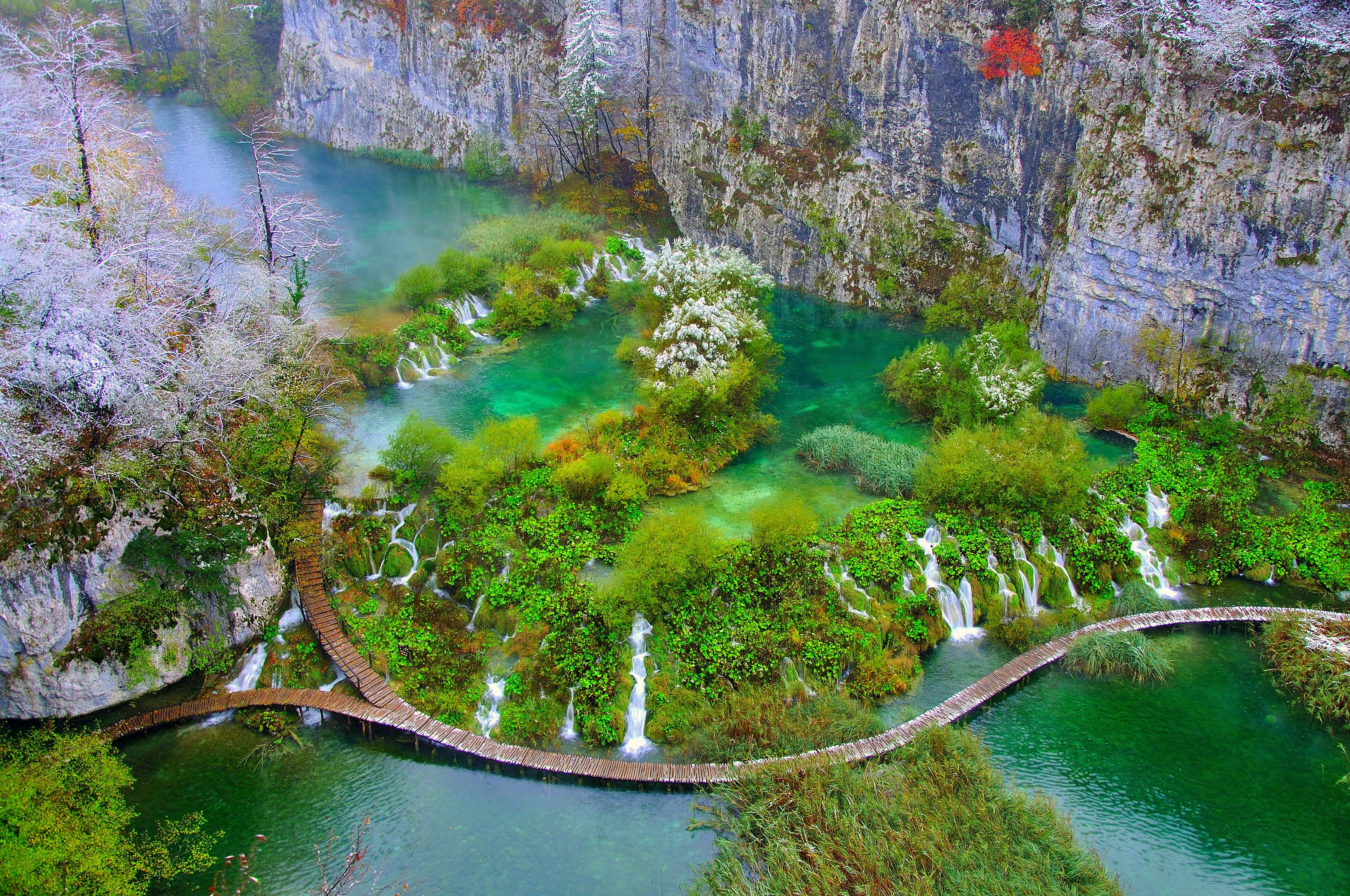 Velkommen til Plitvice Nationalpark (Plitvicka Jezera)