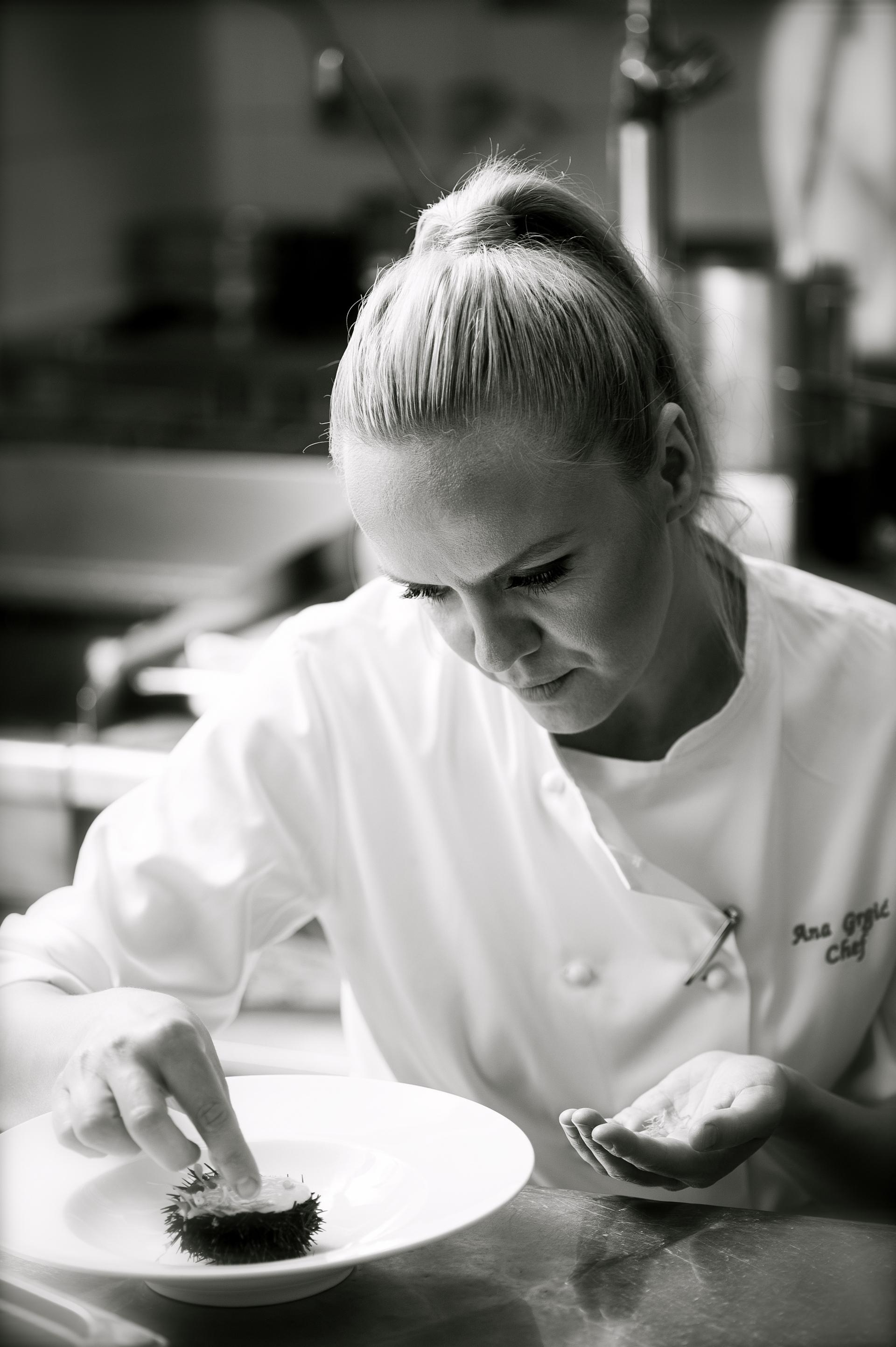 Ana GrgiÜ, Chef Esplanade Zagreb Hotel
