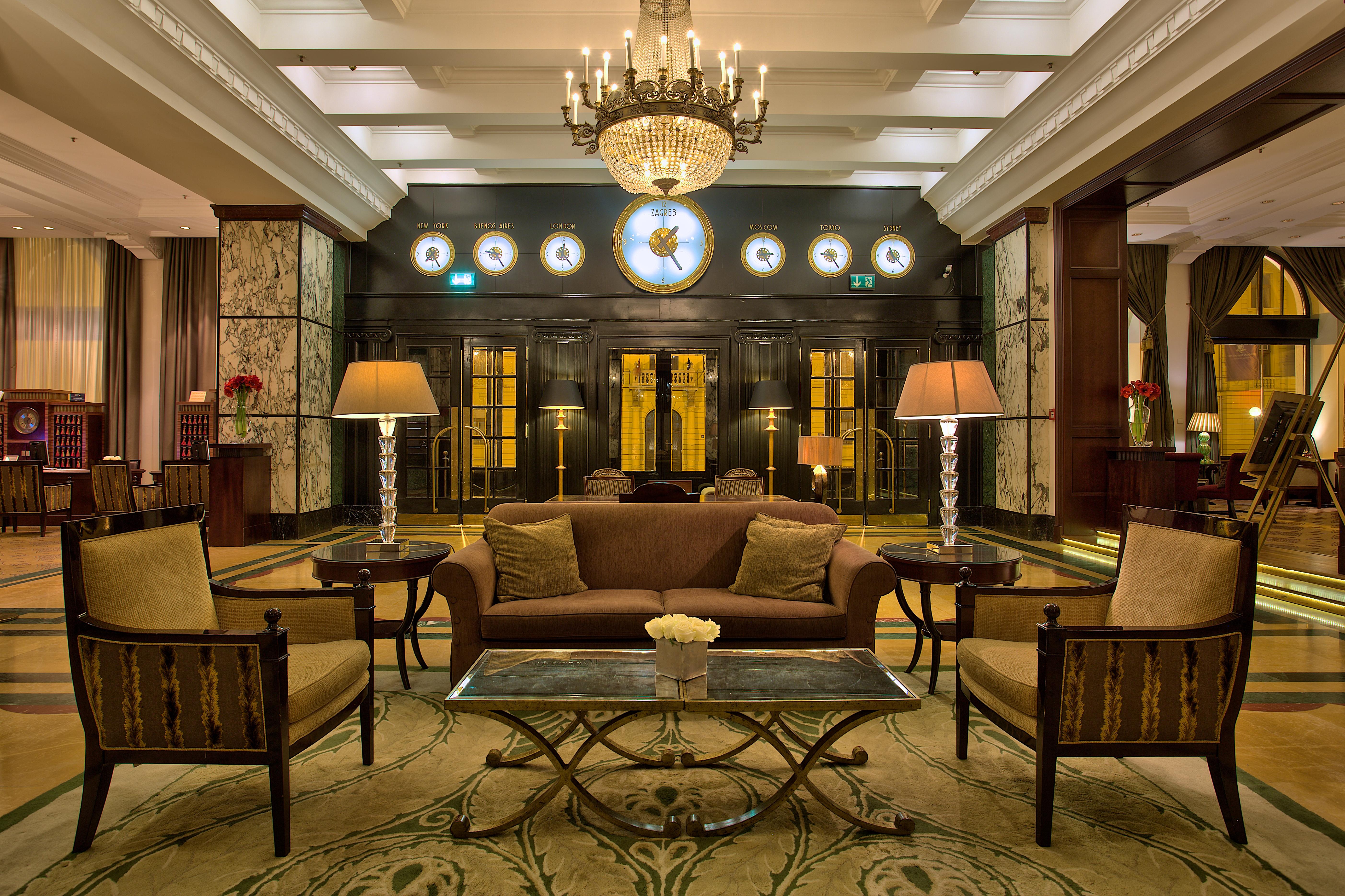 Esplanade Zagreb Hotel - lobby