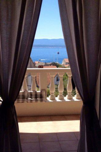 Villa Mira udsigt fra værelse