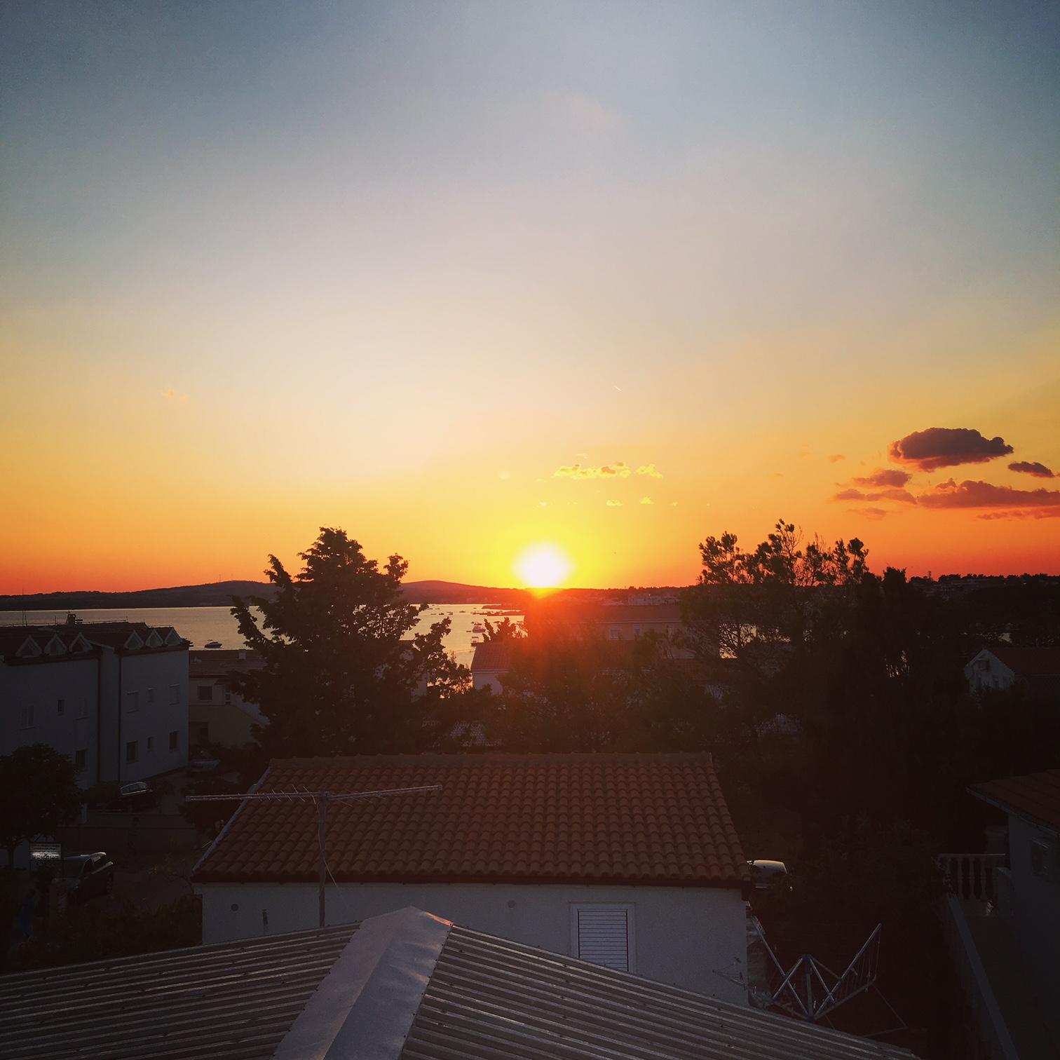 Vir solnedgang