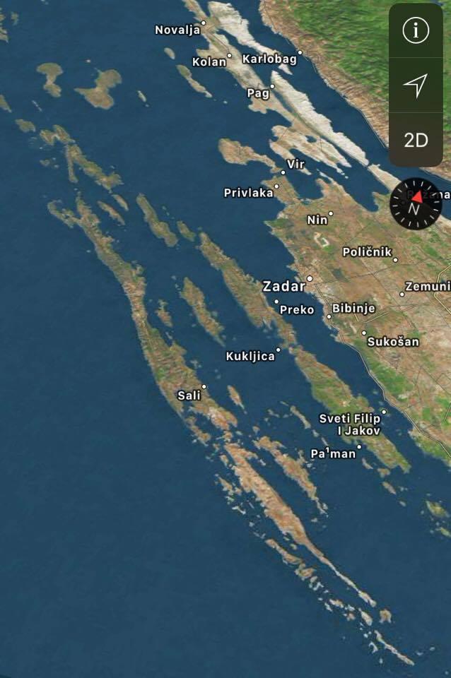 Kort Dugi Otok