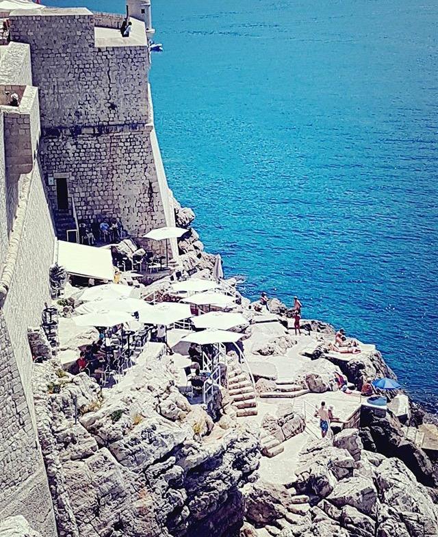Dubrovnik Buza bar lomonanag