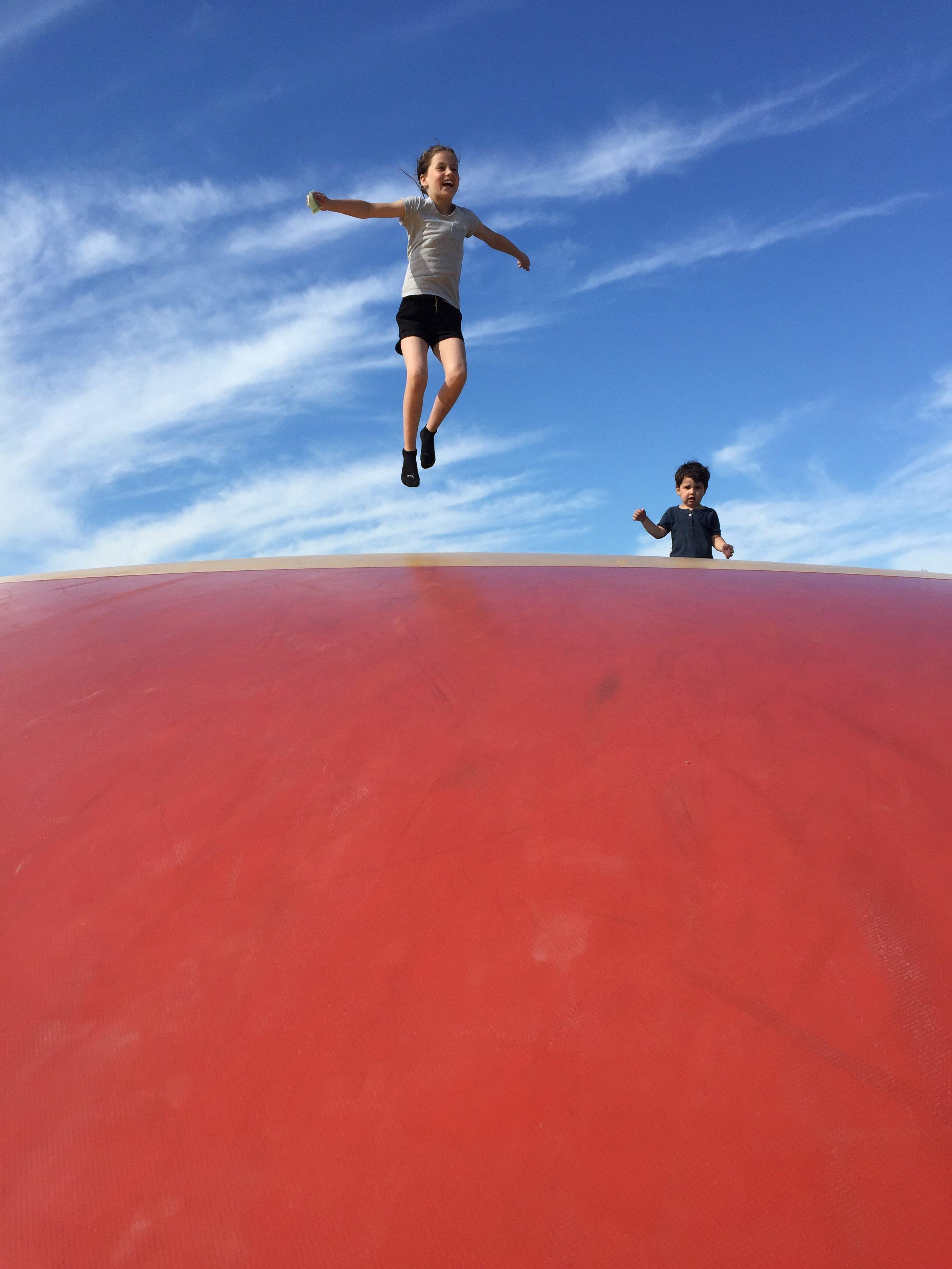 L Frida trampolin
